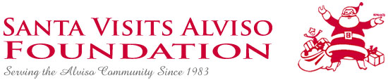 Santa Visits Alviso Foundation